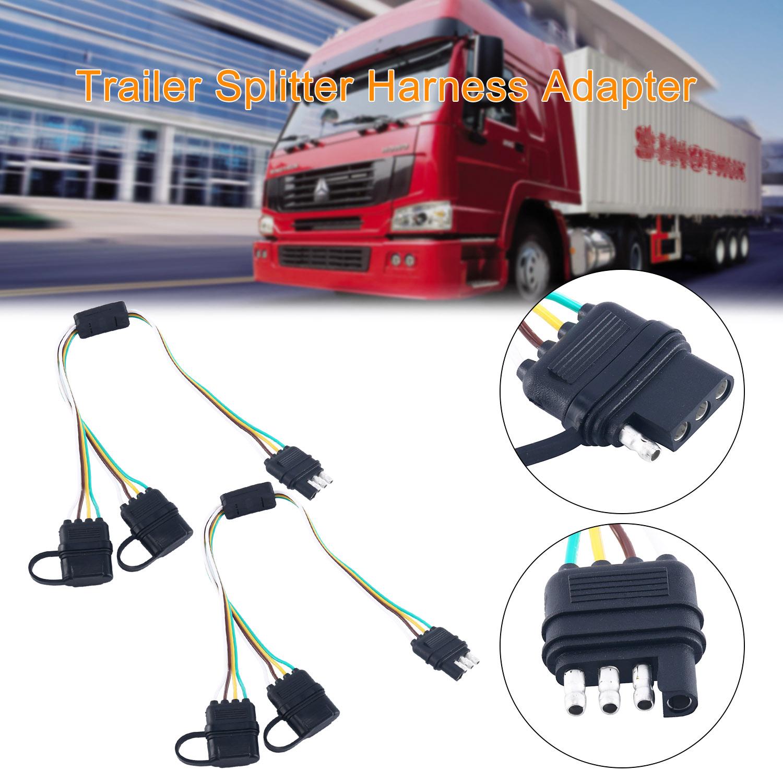hight resolution of 2 pcs trailer splitter harnesses