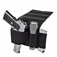Concealed Under Car Seat Pistol Holster Wall Mount Bedroom ...