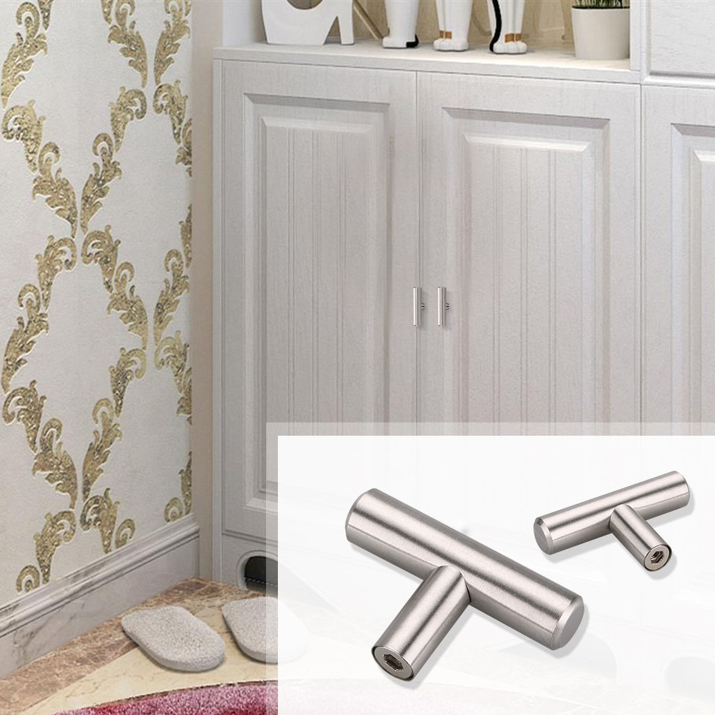 modern kitchen cabinet hardware traditional cabinets pictures 2 18 quot stainless steel t pulls