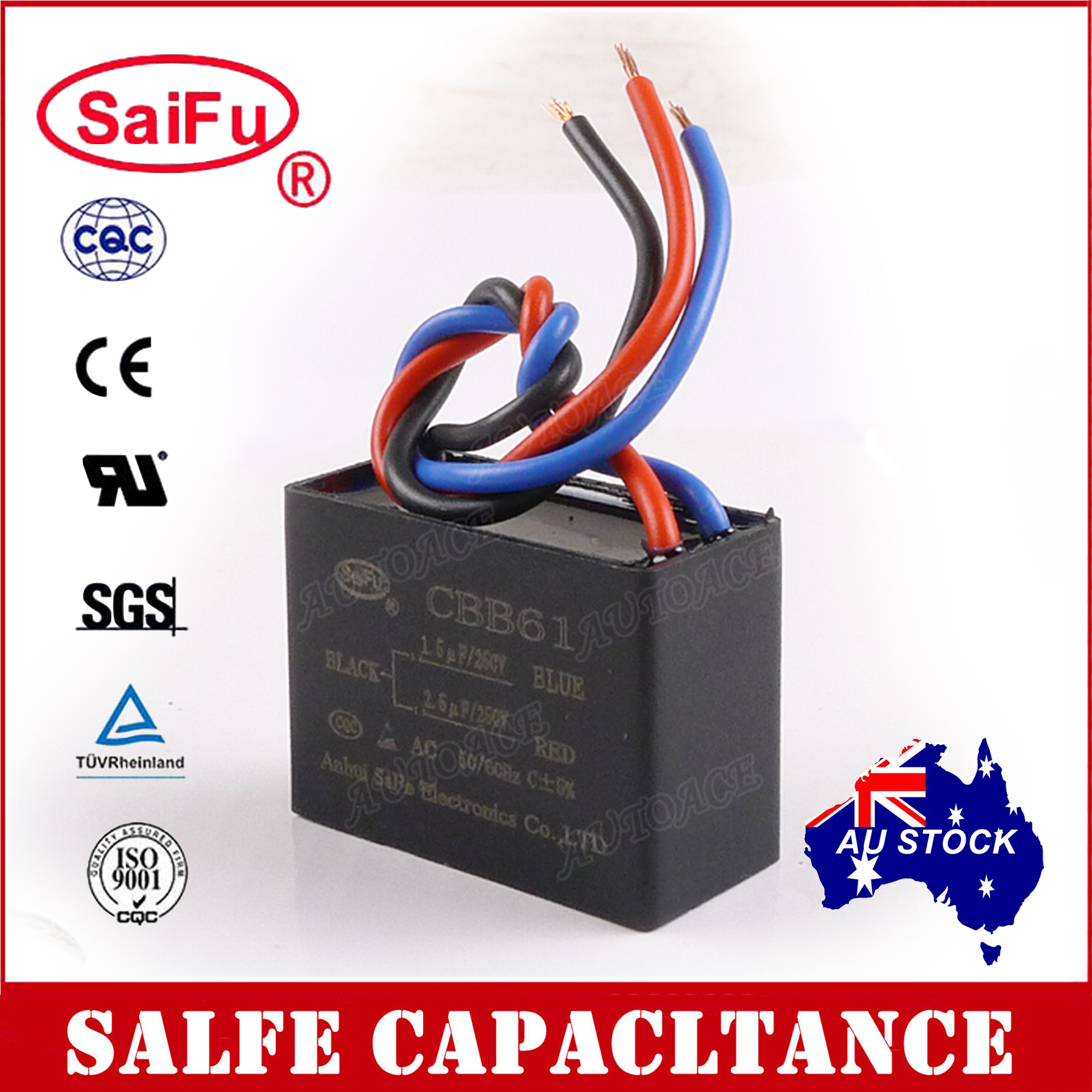 hight resolution of details about saifu cbb61 1 5uf 2 5uf 3 wires ac 250v 50 60hz capacitor for ceiling fan oz