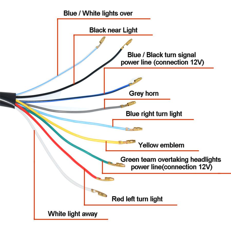 medium resolution of product description 22mm motorcycle handlebar button switch turn signal horn headlight