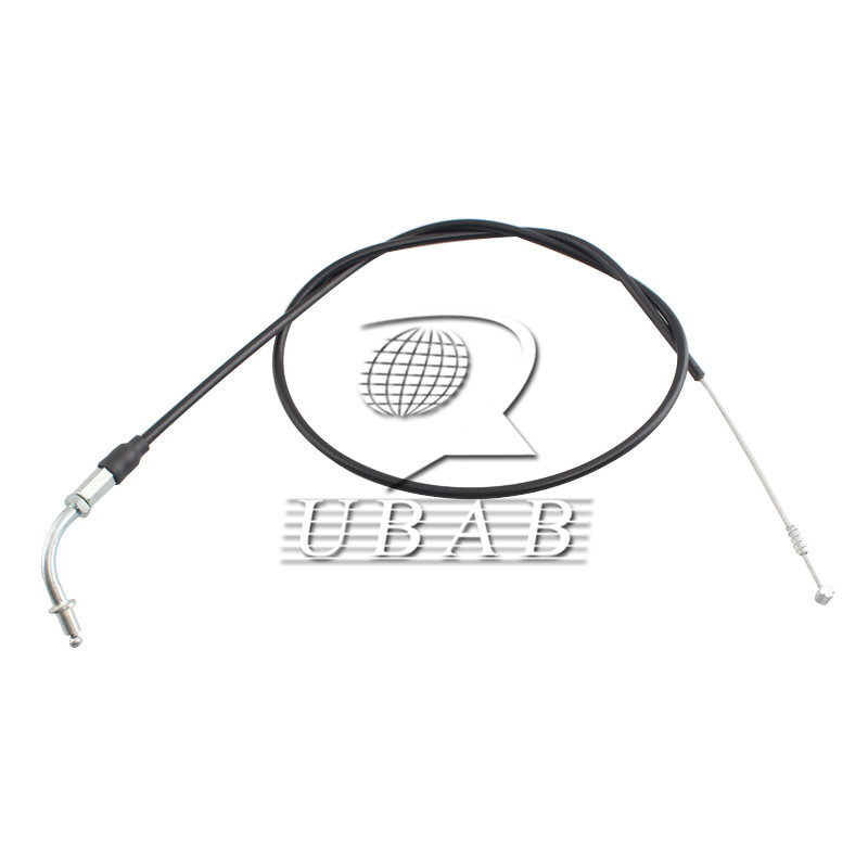 Set 2x Black 90CM Throttle Cable Wire For Harley-Davidson