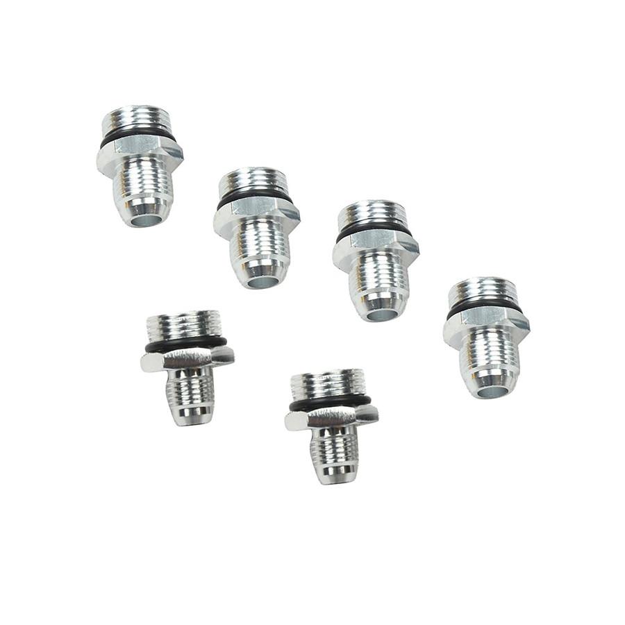 Black Aluminum High Flow Fuel Filter 100 Micron AN6/8/10