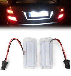 details about 18 led smd number license plate light lamp bulb for ford mondeo focus 5d c max [ 1001 x 1001 Pixel ]