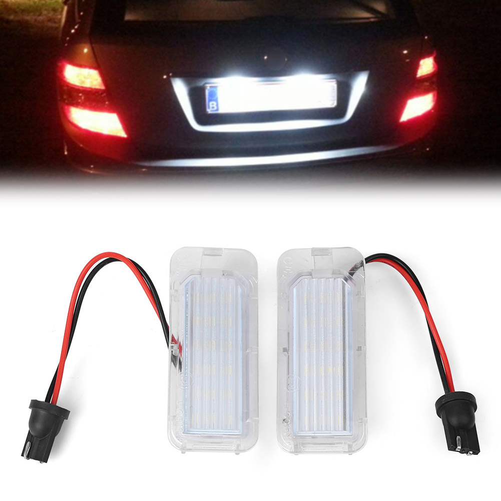 hight resolution of details about 18 led smd number license plate light lamp bulb for ford mondeo focus 5d c max
