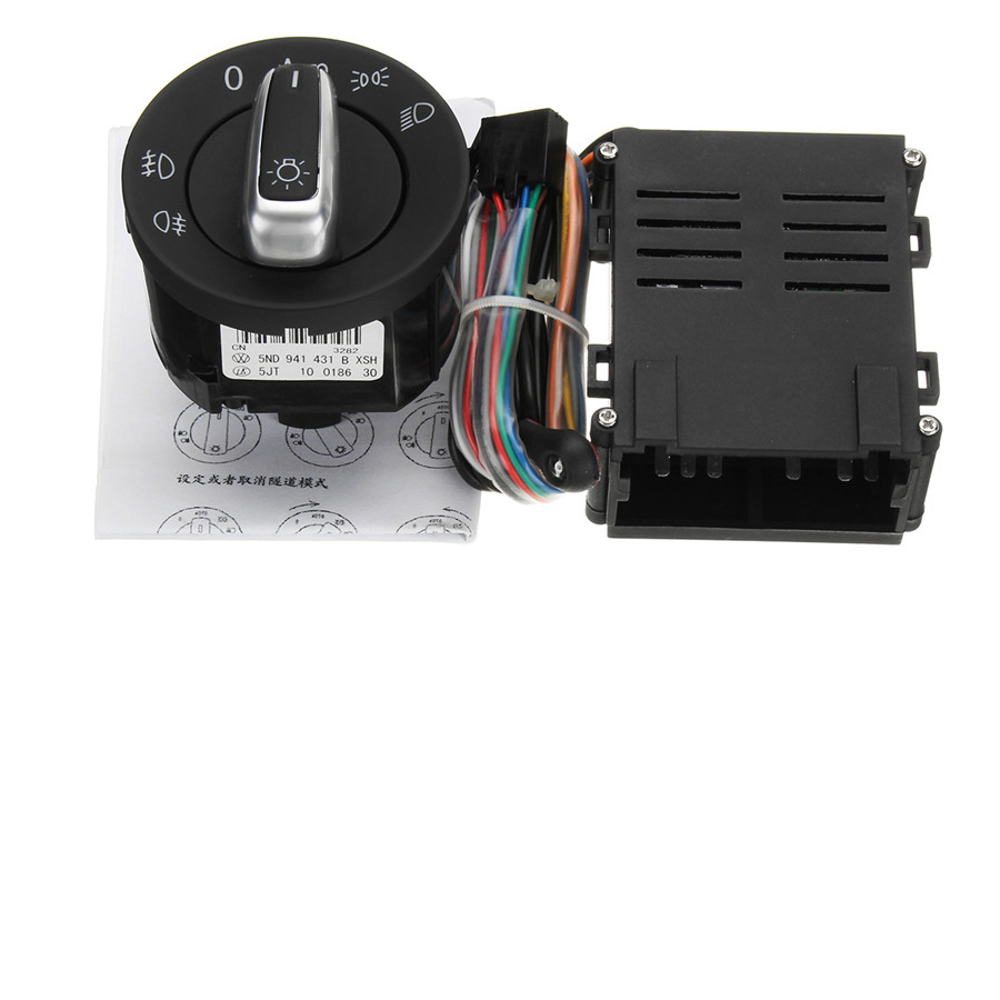 hight resolution of for vw jetta mk4 golf 4 polo beetle passat b5 durable headlight sensor w switch