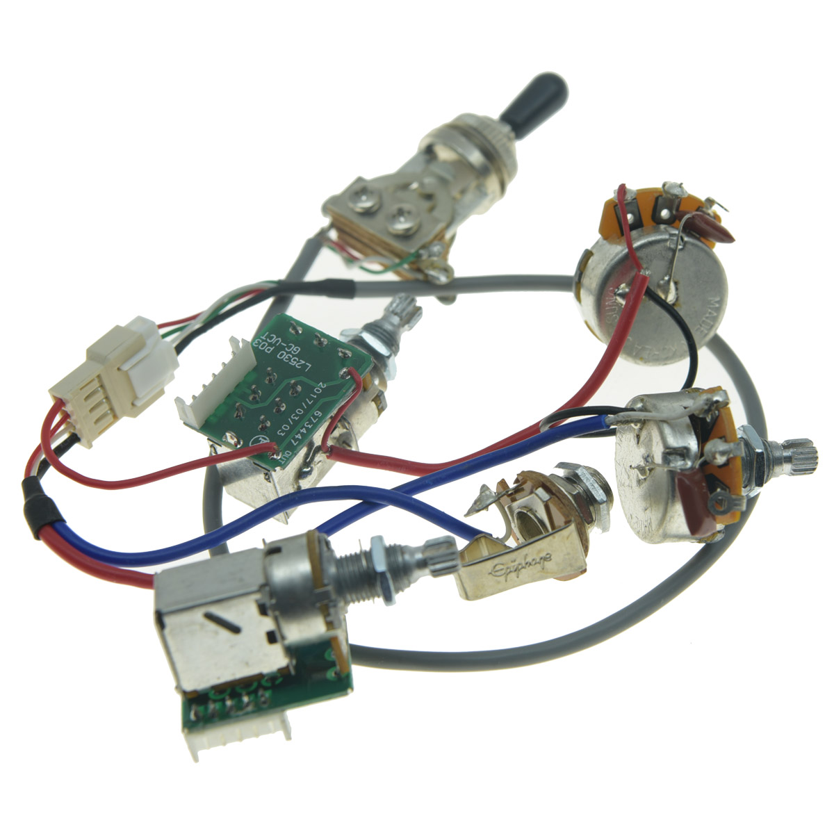 hight resolution of original lp guitar pickup pro wiring harness quick connect for epiphone les paul wiring harness upgrade
