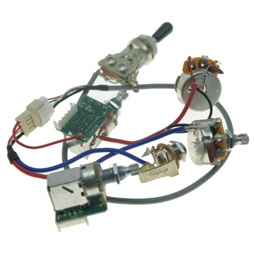 small resolution of original lp guitar pickup pro wiring harness quick connect for epiphone les paul wiring harness upgrade