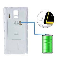 qi wireless charger charging receiver case cover for samsung galaxy note 4 n9100 [ 900 x 900 Pixel ]