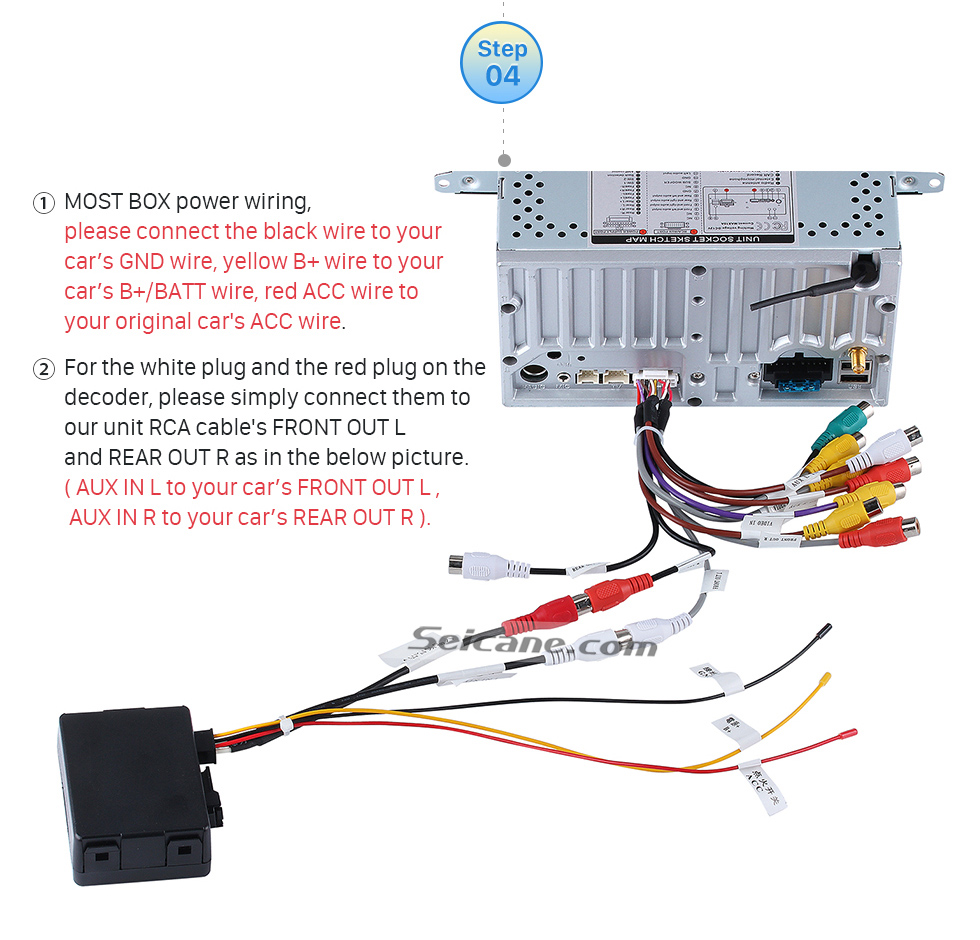 medium resolution of porsche 997 radio wiring diagram car radio stereo optic fiber decoder most box for porsche