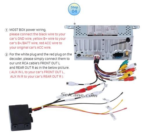 small resolution of porsche 997 radio wiring diagram car radio stereo optic fiber decoder most box for porsche