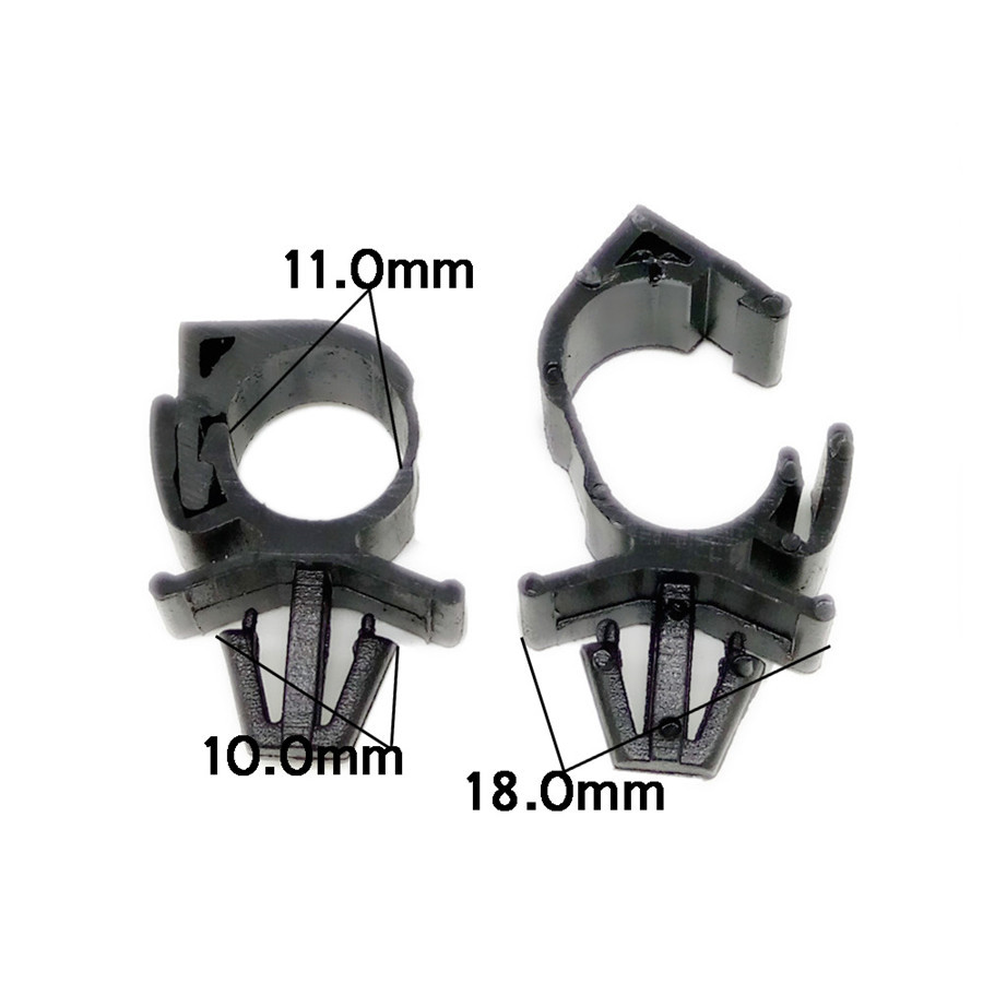 medium resolution of 100pc car plastic wiring harness fastener route fixed clips tie wrap car wiring harness clamps