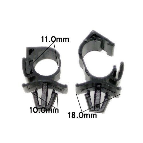 small resolution of automotive wiring harness clamp wiring diagram sch 100pc car plastic wiring harness fastener route fixed clips