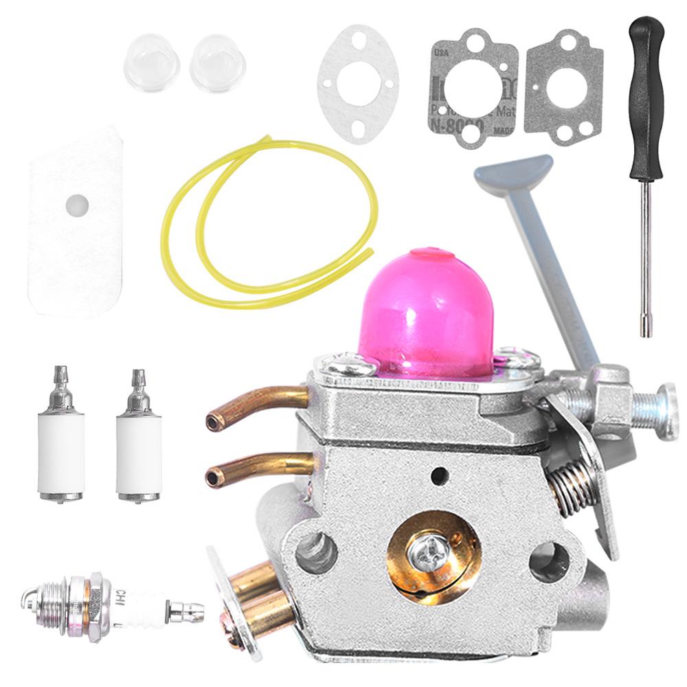 medium resolution of details about carburetor kit fits husqvarna 128c 128l 128ld 128rj trimmer zama c1q w40a carb