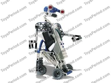 LEGO 9748 Droid Developer Kit Set Parts Inventory and