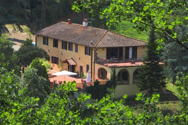 Villa Poggio di Gaville Farmhouse in Chianti near Florence