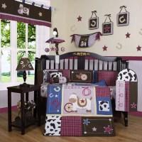 Geenny Boutique Western Cowgirl 13 Piece Crib Bedding Set ...
