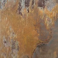 """Natural Stone 4"""" x 4"""" Tumbled Slate Tile in Multicolor ..."""