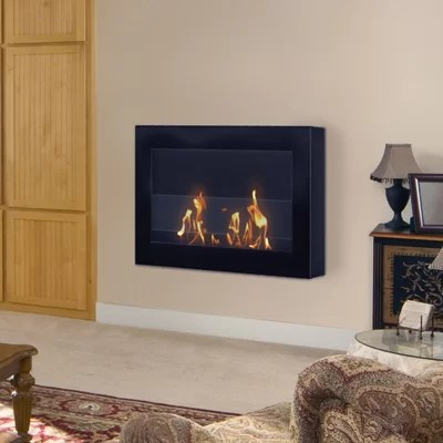 Anywhere Fireplaces SoHo Wall Mounted Bio Ethanol Fireplace  Reviews  Wayfair