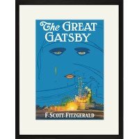 Buyenlarge The Great Gatsby Framed Graphic Art & Reviews ...