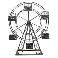 Vita V Home Ferris Wheel Metal Candle Holder & Reviews ...