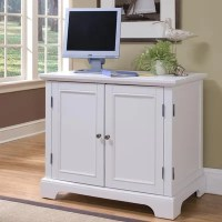 "Home Styles Naples 37.75"" Compact Office Cabinet & Reviews ..."
