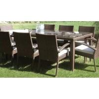 Soho Patio Large Rectangular Dining Table | Wayfair