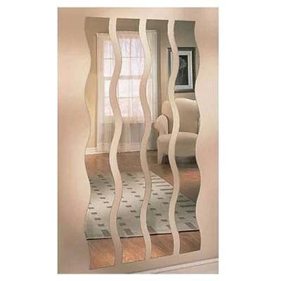 Mirrotek Wave Strip Wall Mirror  Reviews  Wayfair