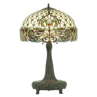 "Rococo 31"" H Table Lamp with Bowl Shade 