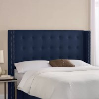 Skyline Furniture Patriot Upholstered Wingback Headboard ...