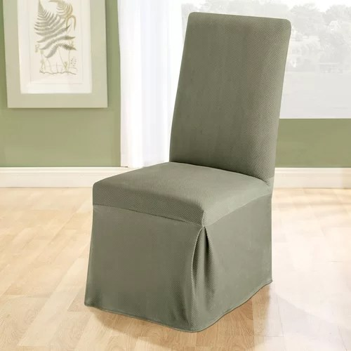 Sure Fit Stretch Pique Dining Chair Slipcover II  Reviews