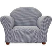 Fantasy Furniture Roundy Ghingham Kids' Club Chair ...