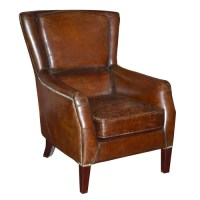 Chester Leather Lounge Chair | Wayfair