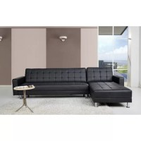 Gold Sparrow Frankfort Convertible Sectional Sofa Bed ...