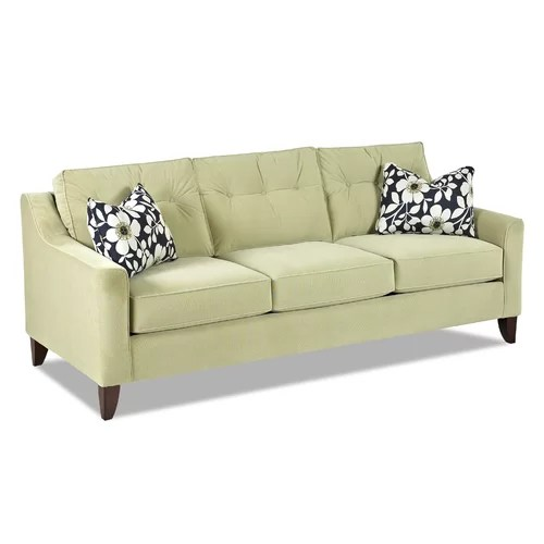 sofas delivered next day mainstays 1 piece stretch fabric sofa slipcover klaussner furniture audrina & reviews | wayfair
