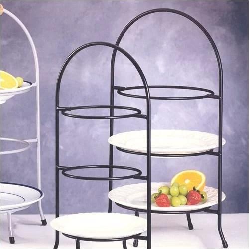 Creative Home Iron Works 3 Tier Dessert Plate Rack