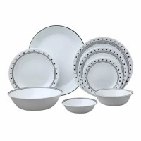 Livingware City Block 76 Piece Dinnerware Set | Wayfair