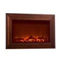 Fire Sense Wood Wall Mounted Electric Fireplace & Reviews ...