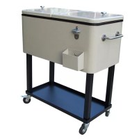 Cold Portable Cooler Soda Beer Patio Ice Chest Park ...