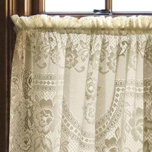 Heritage Lace Victorian Rose Single Curtain Panel Amp Reviews Wayfair