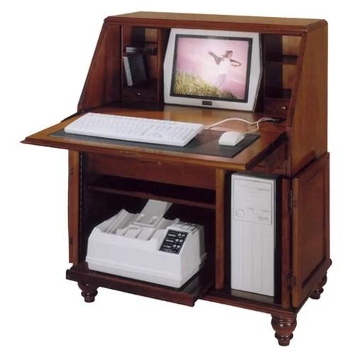 Bahama Breeze Computer Secretary Desk  Wayfair