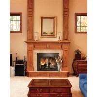 Pleasant Hearth Fenwick Cabinet Style Fireplace Screen ...