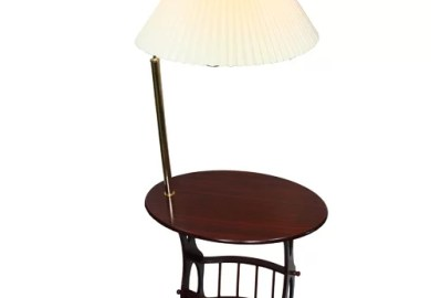 End Table Lamp Combo
