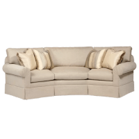 Curved Back Conversation Sofa | Wayfair