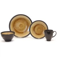 Galaxy Coupe 16 Piece Dinnerware Set