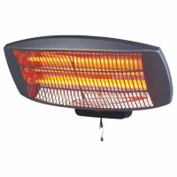 1500W Quartz Wall Mounted Outdoor Electric Patio Heater ...