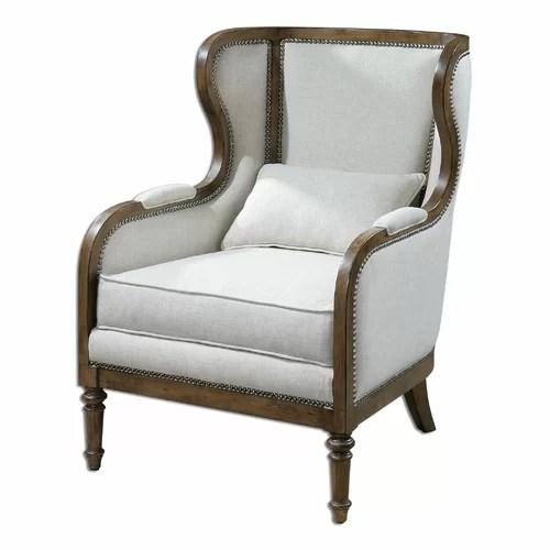 Uttermost Neylan Wing Chair  Reviews  Wayfair