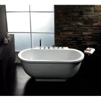 "Ariel Bath 71"" x 37"" Whirlpool Bathtub & Reviews | Wayfair"