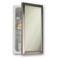 "Broan 15.75"" x 25.5"" Recessed Medicine Cabinet & Reviews"