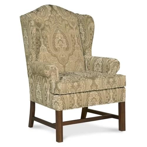 Fairfield Chair Chippendale Wingback Chair  Reviews  Wayfair